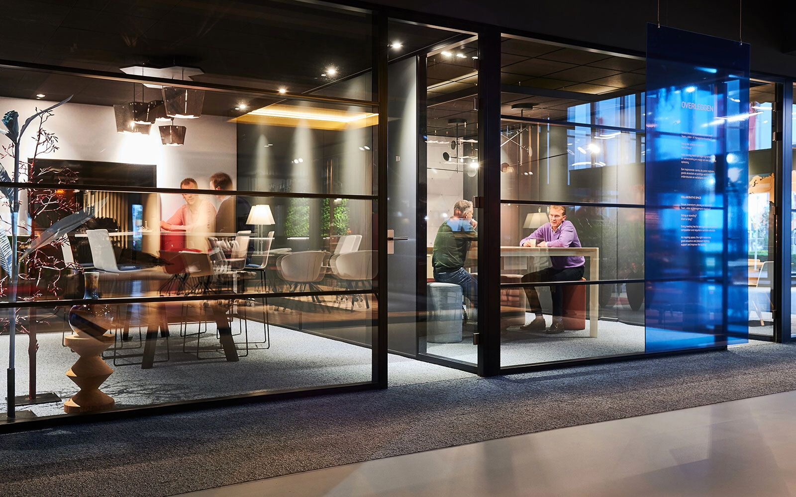 Vergaderruimte Interactief - Klantcase Vepa Office Furniture (Interactief)