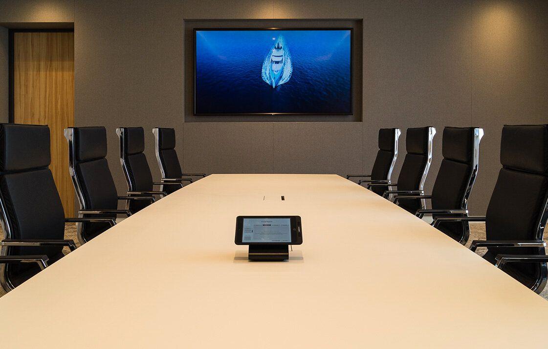 Vergaderruimte Videoconferencing - Klantcase Oceanco (videoconferencing)