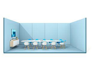 De 4 eigenschappen voor de ideale vergaderruimte - De 4 eigenschappen voor de ideale vergaderruimte