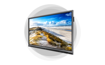 Projecta SlimScreen 145x145 Matte White S projectiescherm 1:1 - Pakket - vergaderruimte