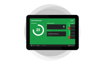 "ProDVX APPC-10DSK 10.1"" 1280 x 800 pixels Touchscreen 2 GHz Rockchip RK3288 Black All-in-One tablet PC - Pakket - Roommanagement"