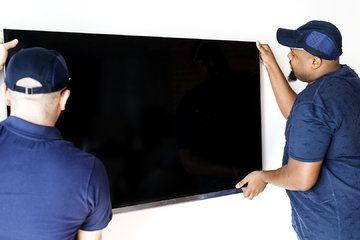 """Conen Mounts SCETAP flat panel vloer standaard 2,54 m (100"""") Vaste flatscreen vloerstandaard Aluminium, Zwart - Installatie"""